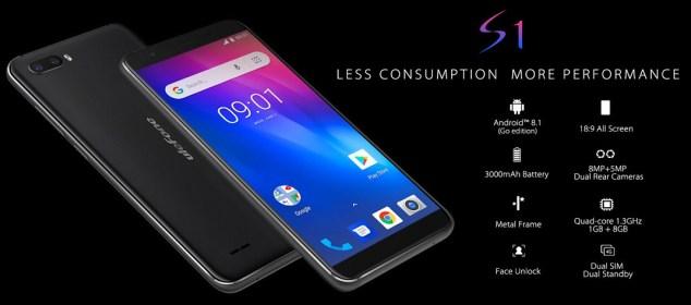 Ulefone S1 dirilis dengan Android Oreo Go: Harga dan Spesifikasi 1