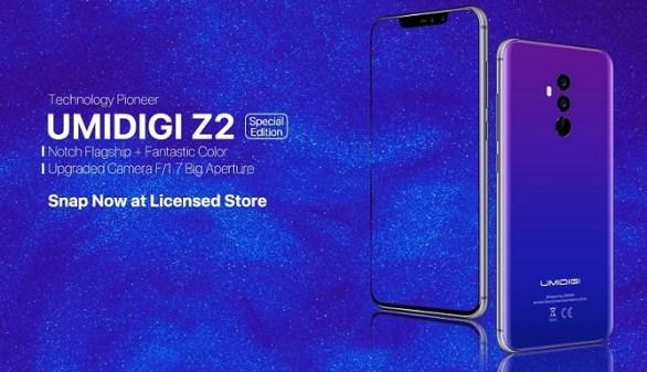 Umidigi Z2 Special Edition dirilis dengan Sensor Kamera Flagship 5