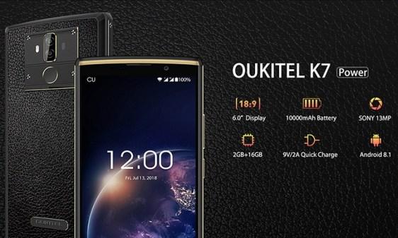 Oukitel K7 Power dirilis: Smartphone Baterai 10000 mAh Termurah Sedunia 1