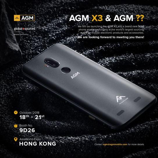 Teaser Smartphone Tipe Normal Baru dari AGM: Keren Juga!! 1