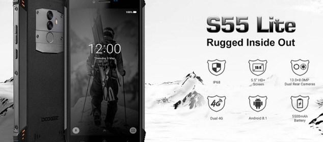Doogee S55 Lite Hadir dengan Android 8.1 dan RAM 2GB: Harga 1,7 juta 5