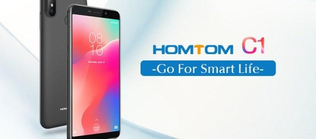 Homtom C1 dirilis dengan Android Go dan Baterai 3000 mAh 5