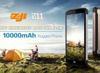 Homtom Zoji Z11: Phablet Rugged Baterai 10000 mAh RAM 4GB Termurah 7