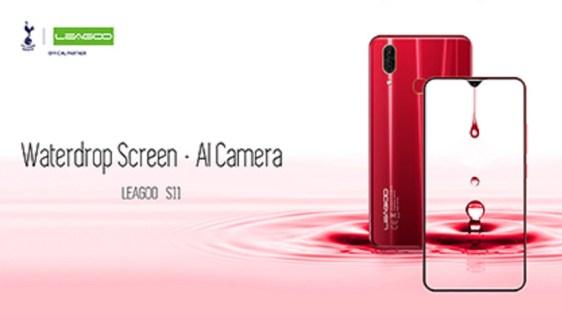 Smartphone Layar Waterdrop Leagoo S11 disiapkan dengan Harga Murah!! 1