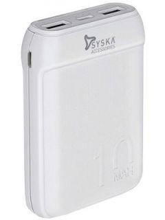 Syska Power Pocket 100 P1016B 10000 mAh Power Bank