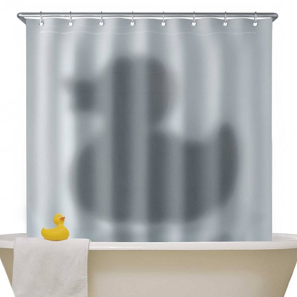 Shadow Of The Duck Shower Curtain Gadget Flow