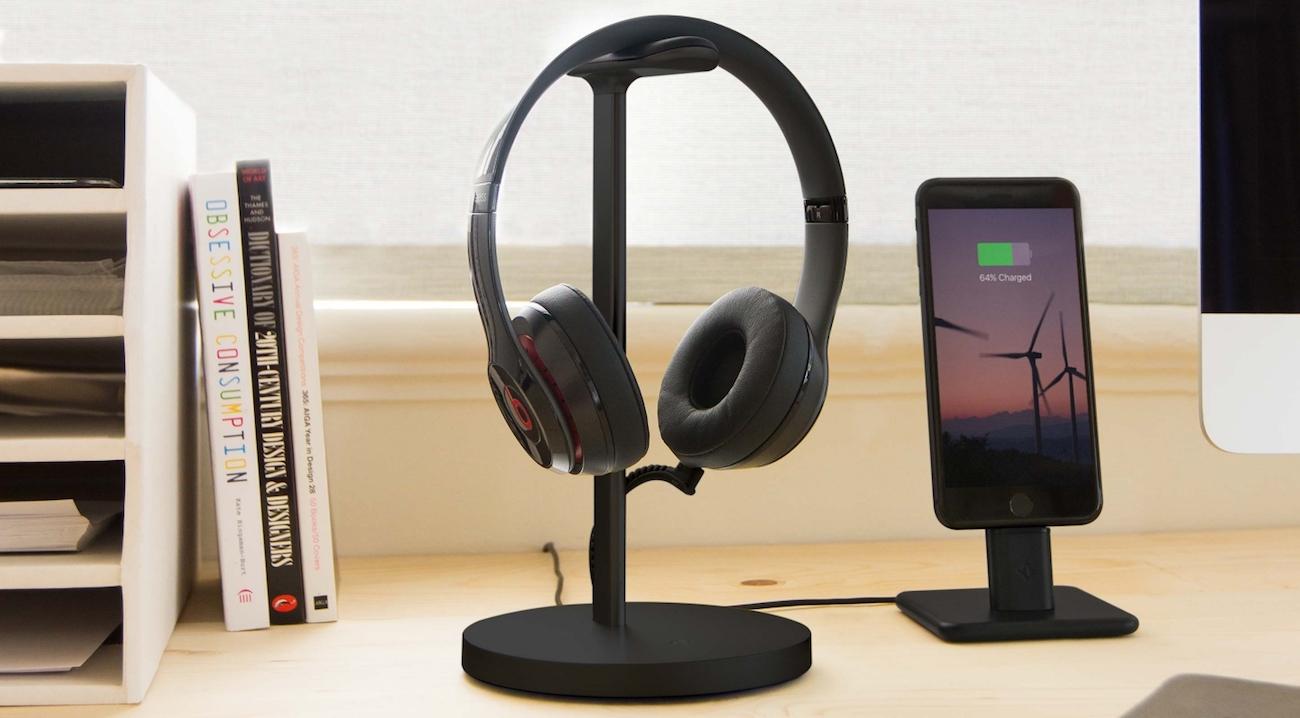 Fermata Charging Headphone Stand Gadget Flow