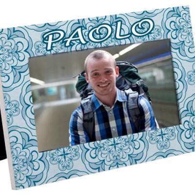 portafoto personalizzato col nome