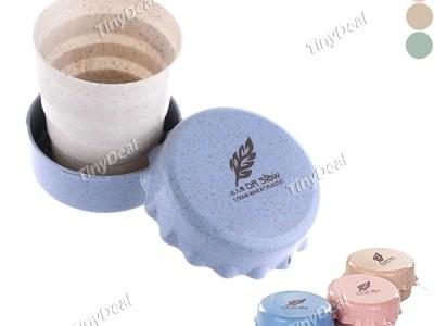 faltbare Tasse aus Weizen Vorschau