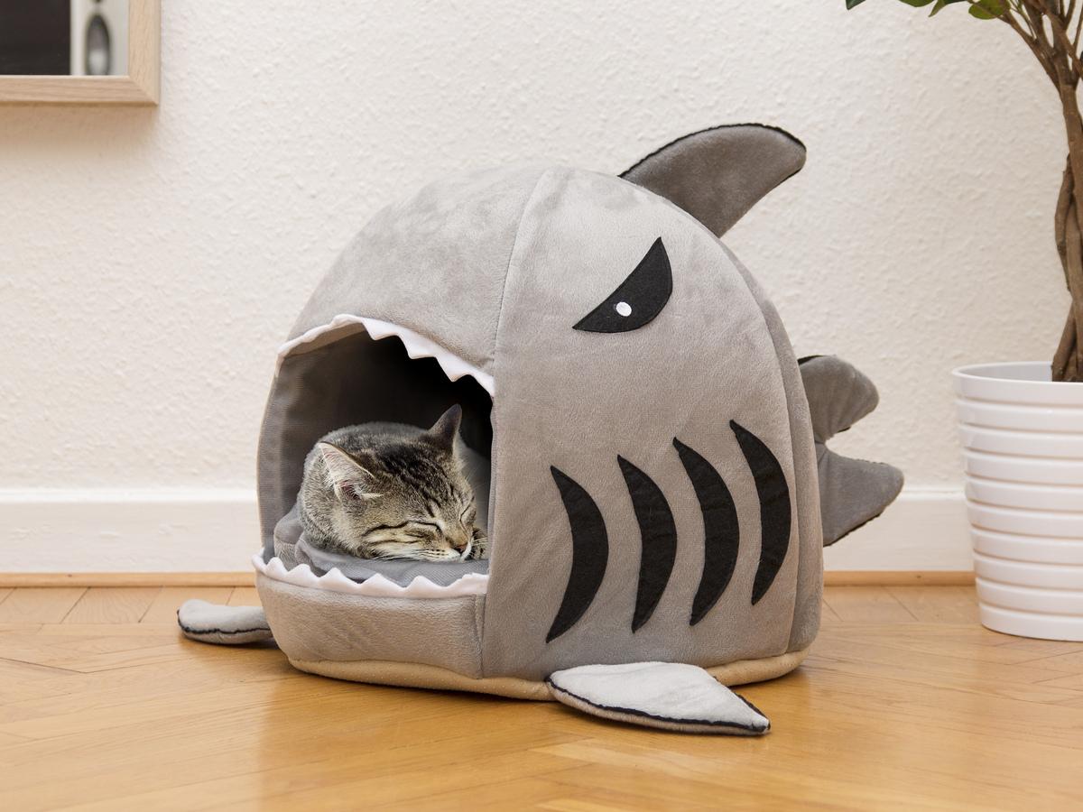 Katzenbett Hai Vorschau