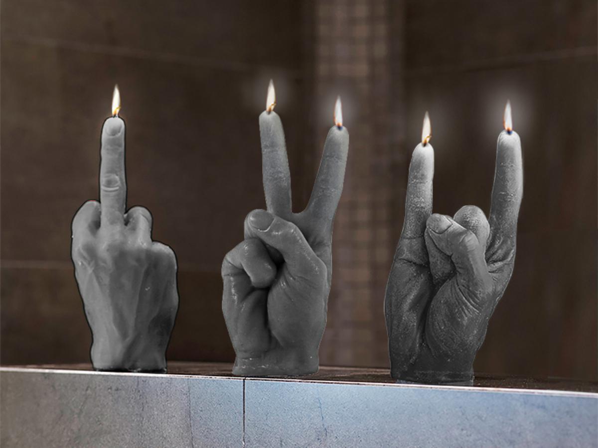 Hand Candle Vorschau