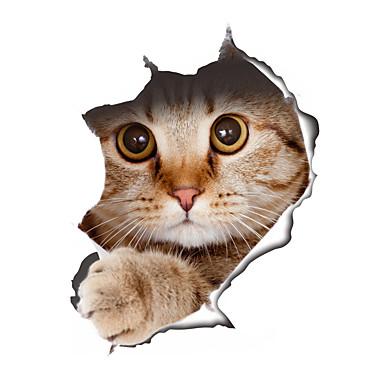 Wandtattoo Katze Vorschau