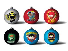 Comic Weihnachtskugeln Vorschau