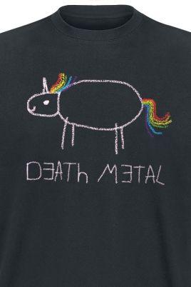 Death Metal Einhorn Shirt Galerie 1