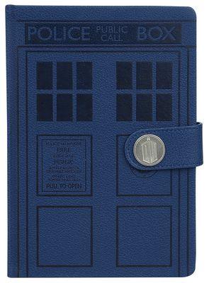 Doctor Who Notizbuch Vorschau