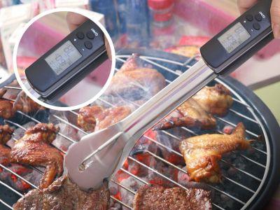 Grillzange mit Thermometer Vorschau