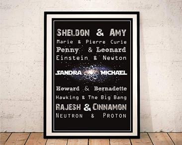individueller Big Bang Theory Print Galerie