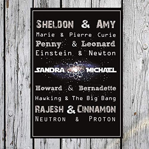 individueller Big Bang Theory Print Vorschau