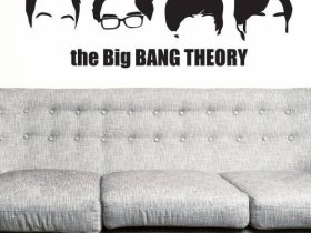The Big Bang Theory Wandtattoo Vorschau