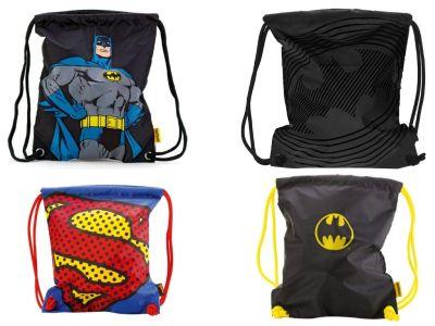 Batman und Superman Turnbeutel Vorschau