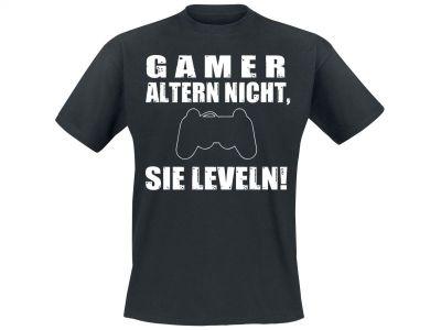 Shirt Gamer altern nicht Vorschau