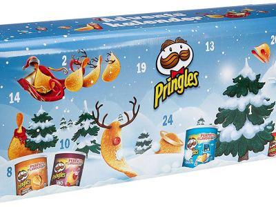 Pringles Adventskalender Vorschau