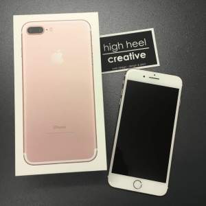 iPhone 7 Plus Review by High Heel Creative Belper