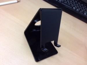 SANWA SUPPLY iPod、iPhone対応 デスクトップスタンド ブラック PDA-STN2BK