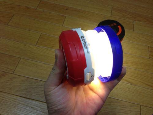 ドッペルギャンガーポップアップ 2WAY LEDランタン3
