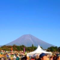 朝霧jam富士山