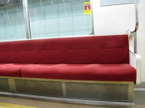 電車シート