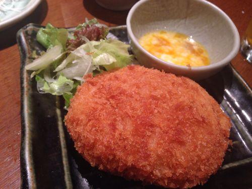 養老乃瀧すき焼きコロッケ