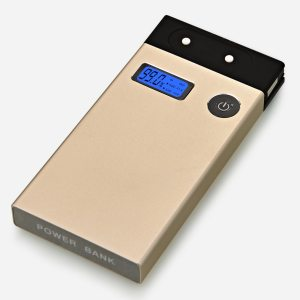 Magic Box Premium Power Bank (10000 Mah) (In-Built Cables) (For All Smartphones)