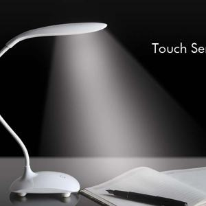 Flexi Lamp: Swan lamp with broad base