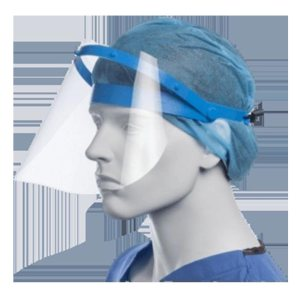 Face shield with Adjustable Easy wear strap
