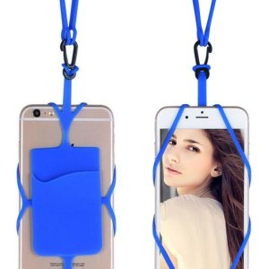 Hanging Silicon Wallet Mobile Case
