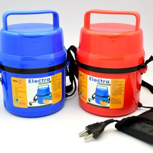 Power Plus Electra Lunch Box Steel – 3 Container