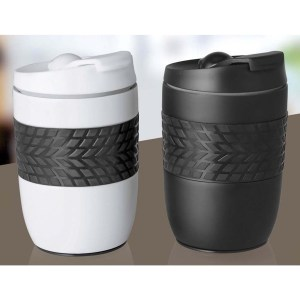 Ferrero Stainless Steel Magic Coffee Mug (300 ml approx) (Spill free design)