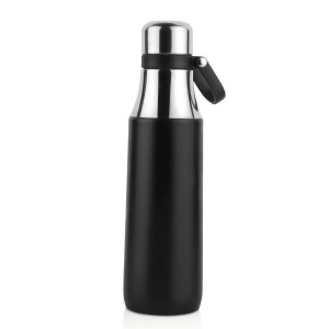 Wilson: Stainless steel flask with carry handle (500 ml approx)