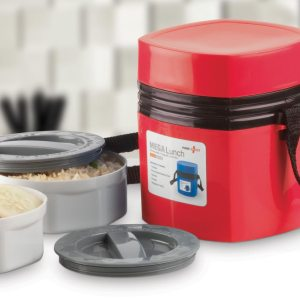 Mega Steam 2 Container: Power Plus Mega Lunch Box (Microwaveable)- 2 Box