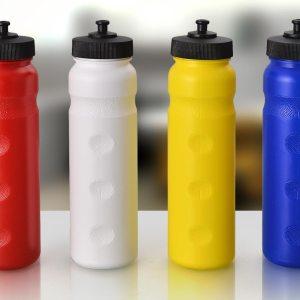 Grip-Sip: Grippy Water Bottle- Cap A
