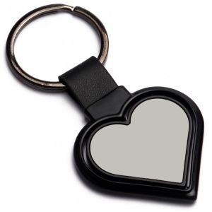 Rotating Heart Shape Keychain