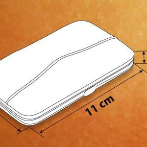 Premium manicure kit in leatherette case (7 pc.) – Small