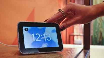 Image result for lenovo smart clock ces 2019