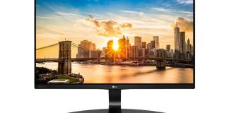 LG 22MP68VQ 22 Full HD IPS SLIM LCD MONITOR