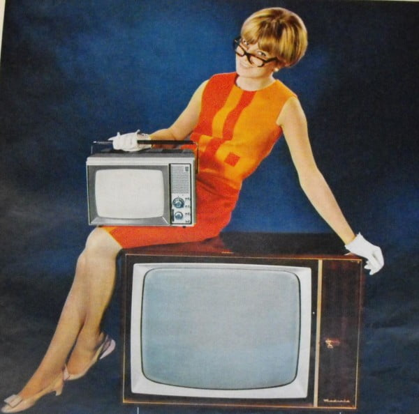 classic vintage TV sets
