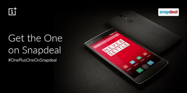 OnePlus One Snapdeal