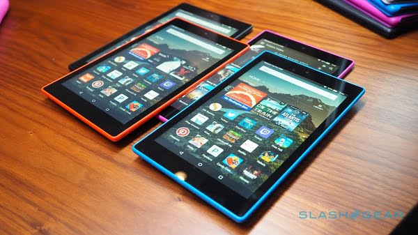 amazon fire hd 7 inch 8 inch and 10.1 inch tablet range $50