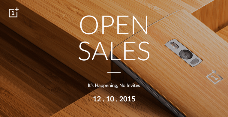 oneplus 2 open sale time