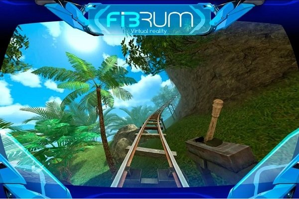 Roller Coaster Virtual Reality simulator android app